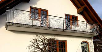 Balkon Element Balkongeländer  Terasse Bachus-Z100/200 Feuer verzinkt – Bild 1