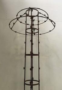 Rankstab Rankhilfe Rankgitter Obelisk Wells XXL 225 cm ROST für Kletterrose