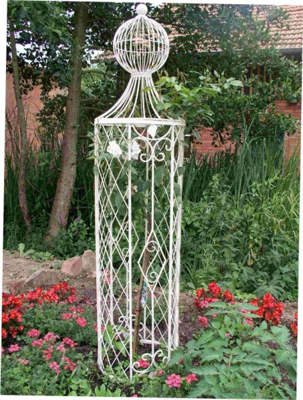 Hervorragend Rankstab Rankhilfe Spalier Rankgitter Metall Rosen Obelisk Wells ZN26