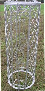 Rankstab Rankhilfe Pfosten Obelisk Wells 135 Verzinkt – Bild 3