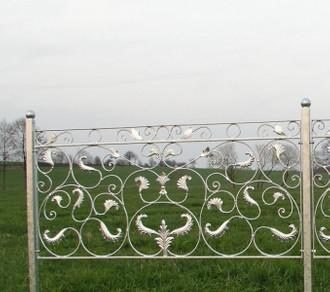 Zaun Zäune Gartenzaun Vigola verzinkt – Bild 3