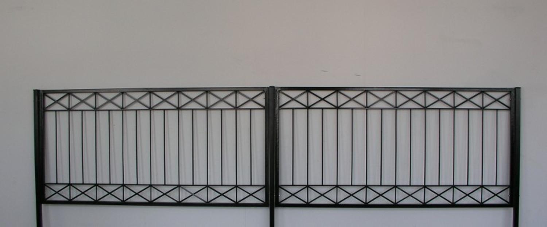 Hervorragend Gartenzaun Metall Modern Zaun Zäune Balkon Tor Crossline-Z120/200 NT69