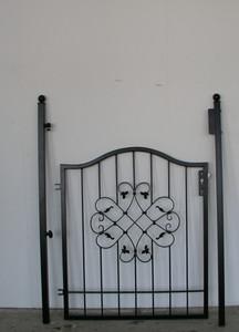 Gartentür Tür Tor Pforte Vela-GT100/100 – Bild 5