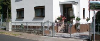 Gartentor Hoftor Metall Schmiedeisen Monaco-GFT500/100A Verzinkt Elektrisch  – Bild 4