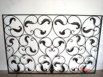 Schmiedeeisen Zaun Zäune Tor Lisbao SG 150 cm – Bild 4