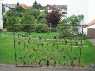 Schmiedeeisen Zaun Zäune Tor Lisbao SG 150 cm – Bild 10