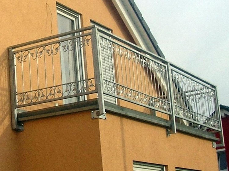 balkon gel nder terassen gitter schmiedeeisen monaco z100 200 feuer verzinkt z une gartenz une. Black Bedroom Furniture Sets. Home Design Ideas