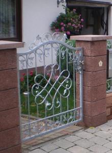 Gartentür Tür Tor Pforte Monaco-GT100/140S Verzinkt – Bild 1