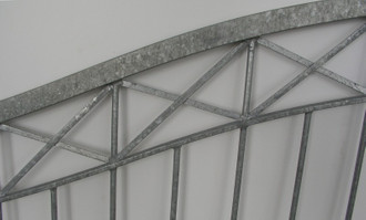 Gartentor Hoftor Tor Crossline-GT450 Verzinkt – Bild 4