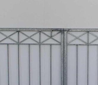 Gartentor Hoftor Tor Crossline-FT400/80R Verzinkt – Bild 1