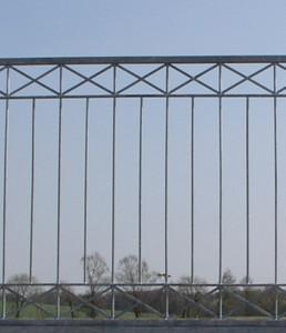 Hoftor Gartentor Schiebetor Crossline-FTS400/100 Zink – Bild 4