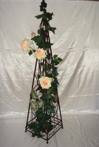 Rankstab Spalier Rankhilfe Obelisk FloraQueen2oB – Bild 6