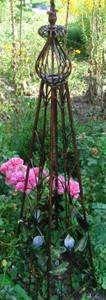 Rankstab Spalier Rankhilfe Obelisk FloraQueen2oB – Bild 7