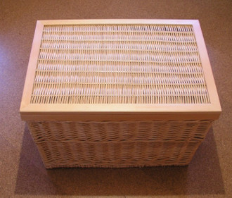 Wäschetruhe Weidentruhe  Wäschekorb Firence3 80cm – Bild 1