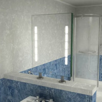 Spiegel Raumteiler Hypnos II,  800 x 600 mm (BxH)   001