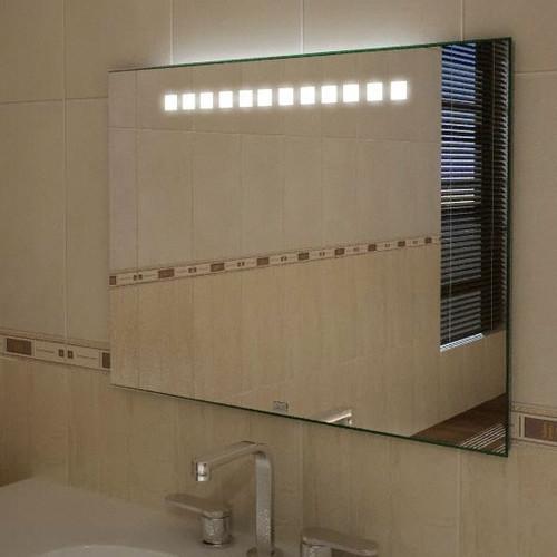 Badspiegel mit Licht,  800 x 700 mm (BxH) Maia I