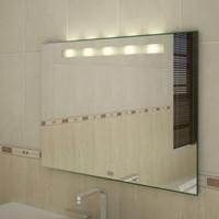 Badspiegel hinterleuchtet,  800 x 800 mm (BxH), Keto I 001