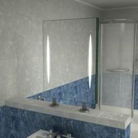 Spiegel Raumteiler Styx II,  900 x 600 mm (BxH)   001