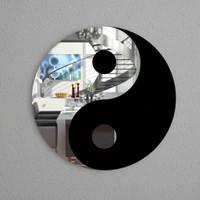 Ying und Yang Formspiegel  001
