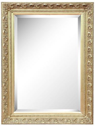 Holz-Rahmen Galina mit ovalem Spiegel