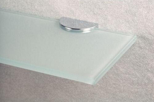 Glasablage mit runden Ecken und Glasplattenträgern – Bild 4