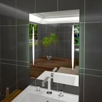 Badspiegel Styx II