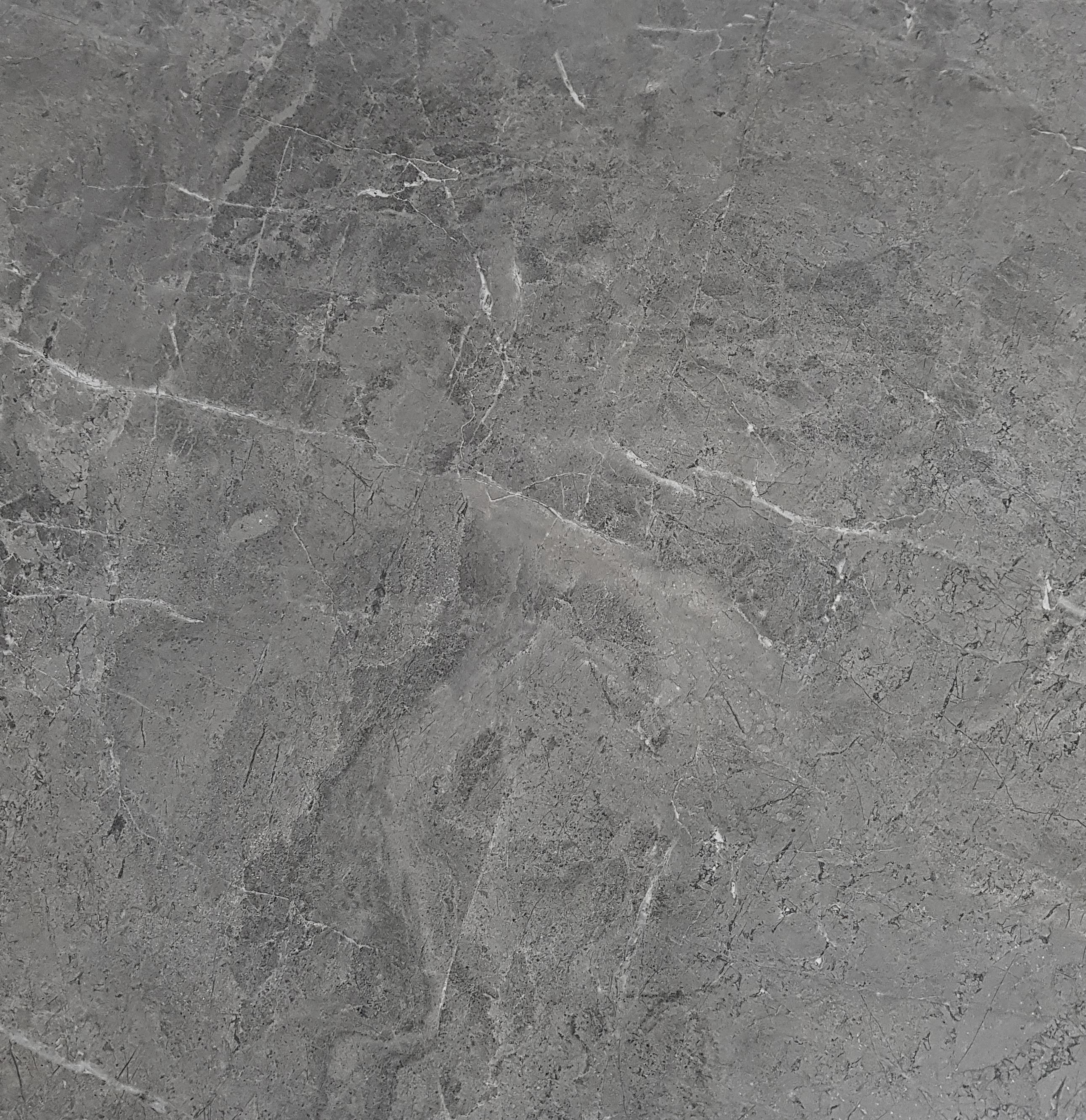 Bodenfliese Rio Gris Grau Poliert Glänzend 80x80 cm