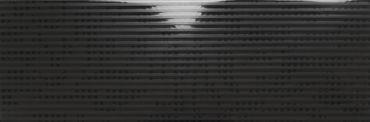 Wandfliese VIV29 Linie Schwarz Glänzend 20x60 cm