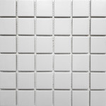 Mosaik Light Grey Keramik 30x30 cm 001