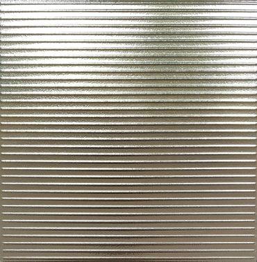 Wandfliese Metallic Lines Alu 30,5x30,5 cm – Bild 1