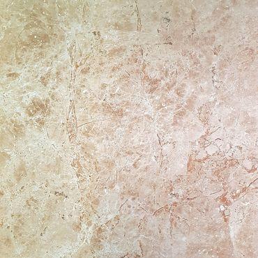 Bodenfliese Breccia Stone Gold Braun Poliert Glänzend 80x80 cm – Bild 1