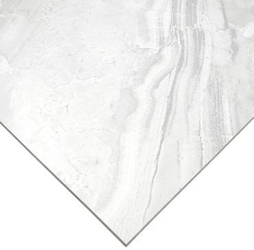 Bodenfliese Unico Grey 60x60 cm Glänzend rektifiziert – Bild 3