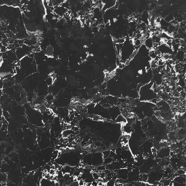 Bodenfliese Pulpis Black Poliert Glänzend 60x60 cm – Bild 1