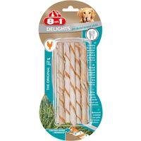 8in1 Delights Pro Dental Twisted Sticks 10 Stück