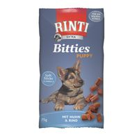 Rinti Extra Bitties Puppy Huhn & Rind 75g