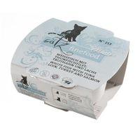 Catz finefood Mousse No. 213 Weißfisch mit Thunfischfilet, Truthahn und Lachs 100g