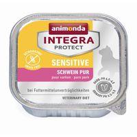 Animonda Cat Schale Integra Protect Sensitiv mit Schwein pur 100g