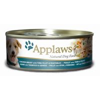 Applaws Natural Dog Food Huhn, Thunfisch & Gemüse 156g
