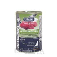 Dr. Clauders Selected Meat Ente & Süßkartoffel 400g