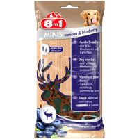 8in1 Dog Minis Venison & Blueberry 100 g