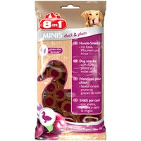 8in1 Dog Minis Duck & Plum 100 g