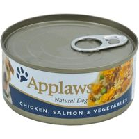 Applaws Hunde Nassfutter in einer Dose Huhn, Lachs & Reis 156 g