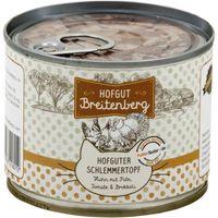 Hofgut Breitenberg Cat Hofguter Schlemmertopf Huhn mit Pute, Tomate & Brokkoli 180g