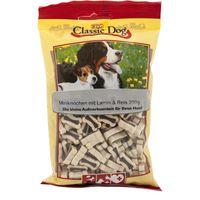 Classic Dog Snack  Miniknochen mit Lamm & Reis 200g