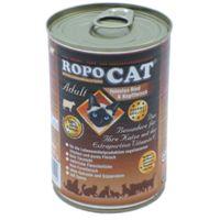 RopoCat Adult feinstes Rind & Kopffleisch 400g