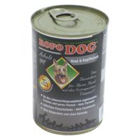 RopoDog Adult Rind & Kopffleisch 400g