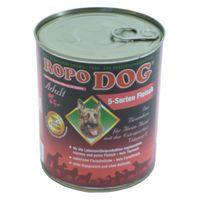 RopoDog Adult 5-Sorten Fleisch 800 g
