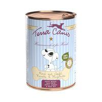 Terra Canis für Welpen mit Rind, Apfel, Karotte & Hagebutte 400g