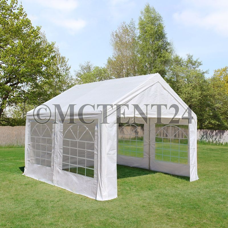pavillon partyzelt 3x4m 4x3m stabiler marktstand sonnenschutz stahlgestell neu ebay. Black Bedroom Furniture Sets. Home Design Ideas