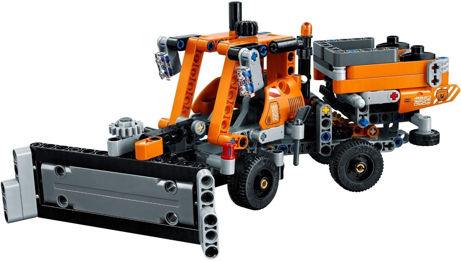 lego technic 42060 stra enbau fahrzeuge neu ovp roadwork. Black Bedroom Furniture Sets. Home Design Ideas